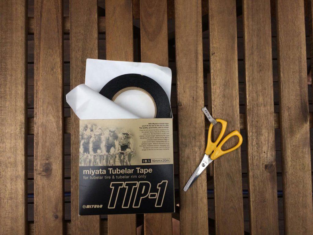 ミヤタ チューブラーテープTTP-1 チューブラーリムテープ 16mm×20m
