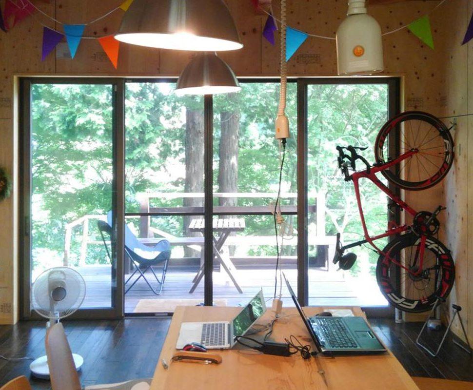 自転車ラックを自宅で簡単DIY