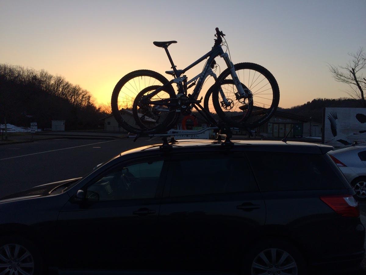 自転車と車で行く、シックスホイールの旅