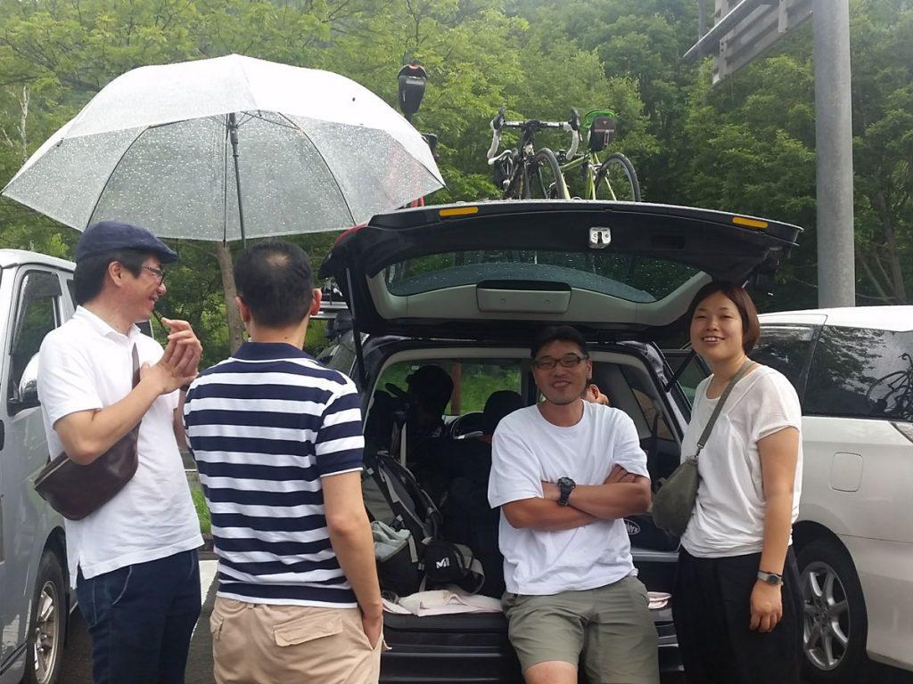 この日の乗鞍は1日目雨でしたが、荷物を満載したまま松本市に観光に行きました。