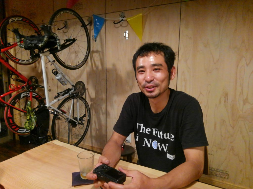 くらしサイクル 店長木原さん。色々と楽しいお話きかせていただきました。